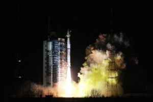 CZ-4C vynáší novou čínskou meteorologickou družici