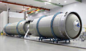 Výroba Atlasu V pro první misi lodi Starliner.