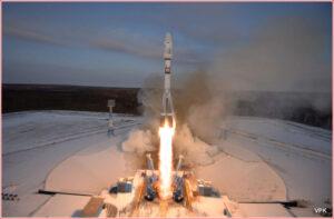 Start sestavy Sojuzu 2-1b - Fregat z kosmodromu Vostočnyj.