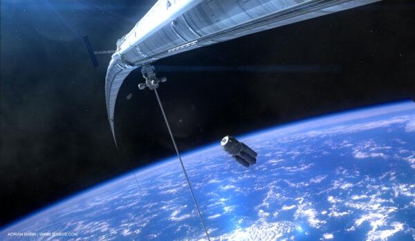 prstencová konstrukce okolo Země zdroj: bisbos.com