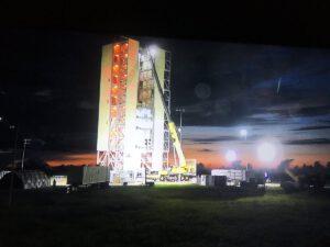 Startovní komplex SLC-46, srpen 2017