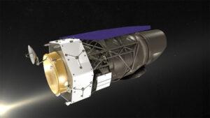 Umělecká představa teleskopu WFIRST