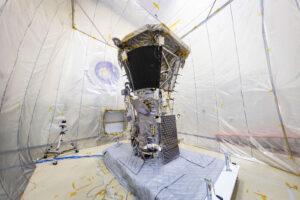 Akustická komora Goddardova střediska se sondou PSP