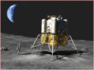 Dva starty nové ruské těžké rakety by umožnily pilotované přistání na povrchu Měsíce.