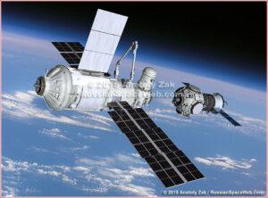 Připojování modulu Pričal k samostatnému modulu Nauka v případě oddělení od ISS.