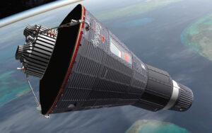 První americký opatrný krůček za brány vesmíru - kabina Mercury