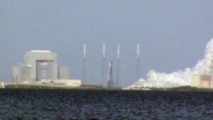 Statický zážeh Falconu 9 před misí SpaceX CRS-13