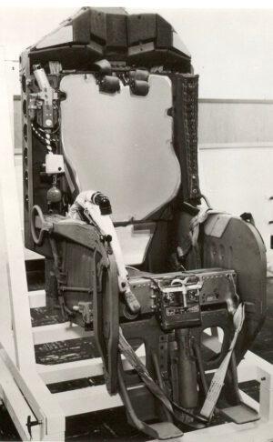 Katapultážní sedadlo pro Gemini