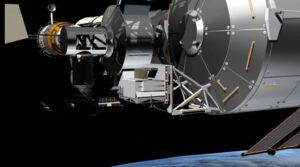 Vizualizace evropského přístroje Atmosphere Space Interactions Monitor (ASIM)