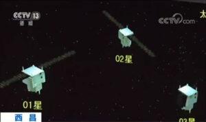 Trojice družic Yaogan 30.