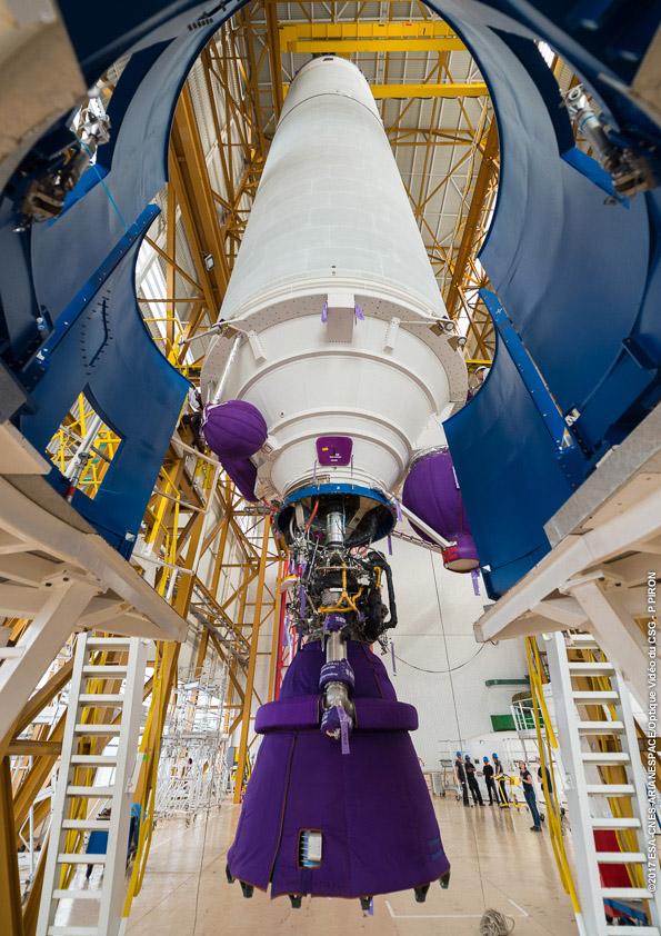 Příprava rakety Ariane 5