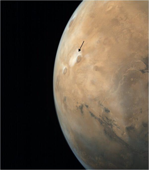 Mars skrz kamery sondy Mangalyaan