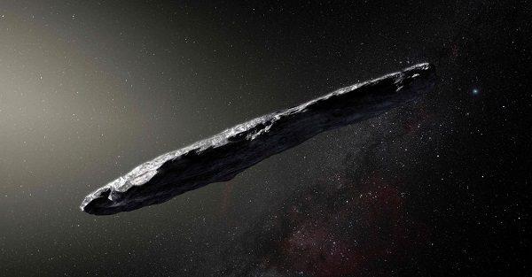 Oumuamua zdroj: pc-tablet.com
