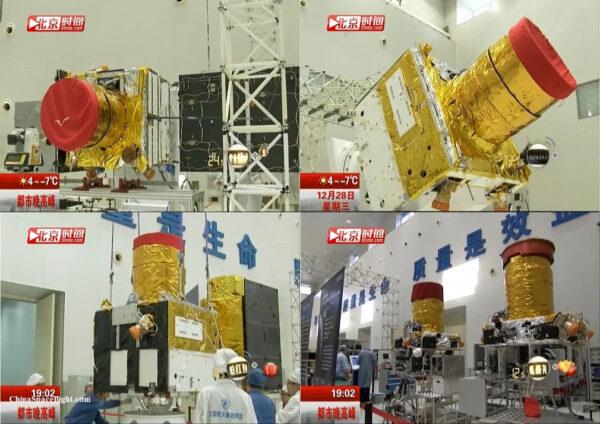 Příprava družic GaoJing 1