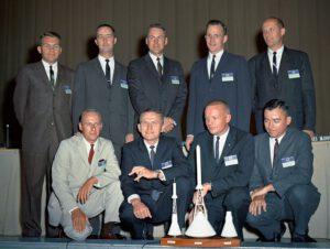 Druhý nábor astronautů NASA - legendární New Nine