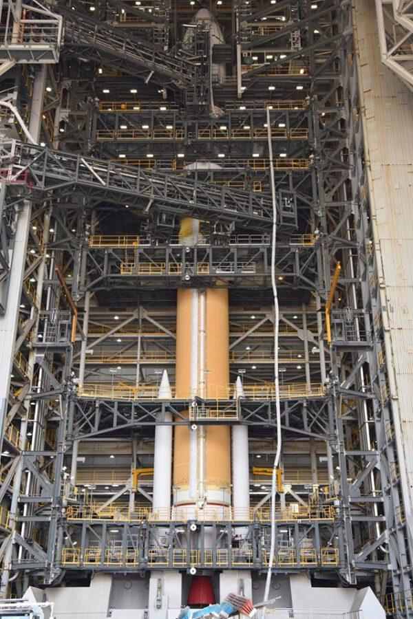 Raketa Delta IV pro misi NROL-47