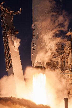První start stupně 1032 na tajnou misi NROL-76.