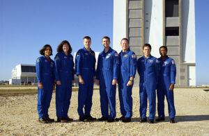 Posádka osudného letu STS-107.
