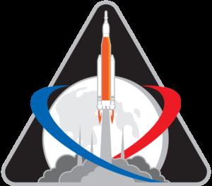 Oficiální logo mise EM-1 (Exploration Mission-1)