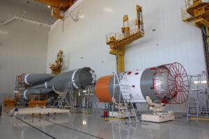 Raketa Sojuz 2.1a pro družice Kanopus-V 3 a 4
