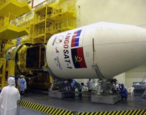 Předletová příprava družice AngoSat-1