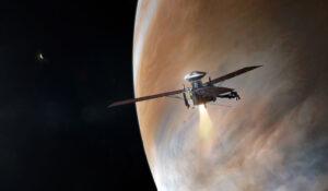 Brzdící zážeh sondy Juno.
