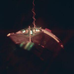 Spojení! Pohled ze Scottova okénka po připojení k Ageně.