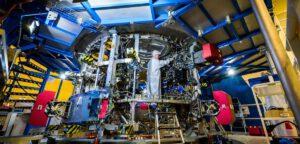 Servisní modul Orionu pro EM-1, únor 2018. Modul má být dokončen vlétě 2018.