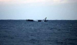 Stupeň Falconu 9 při misi SES-16 také zkoušel sestup s vysokou úrovní tahu. Nečekaně po dopadu na hladinu přežil.