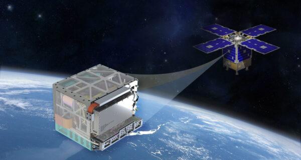 DSAC jakožto součást družice General Atomics Orbital Test Bed