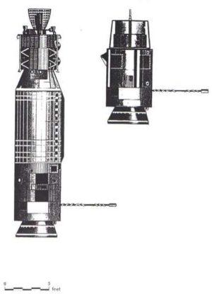 Kresba ATDA (vpravo) ve srovnání s GATV (vlevo)