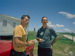 Posádka Gemini X: (zleva) Young, Collins