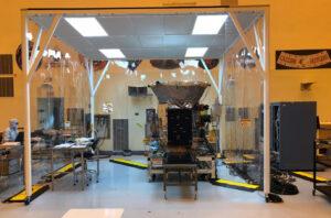 Příprava teleskopu TESS.