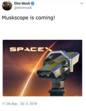 Elon Musk na svém twitteru nedávno takto oznámil název nového produktu a vyvolal tím malou senzaci.