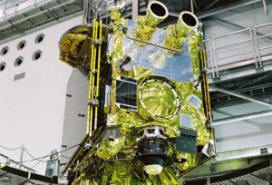 Hayabusa 2 během pozemních příprav.