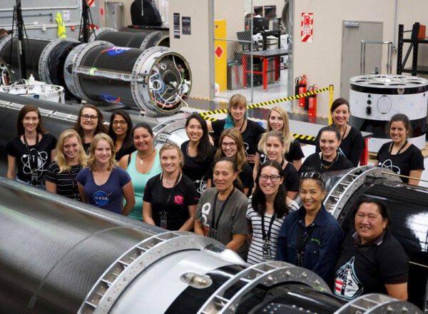 Ženy pracující v RocketLab