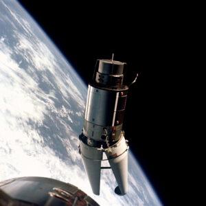 """Rozzuřený aligátor"" pohledem posádky Gemini IX-A"
