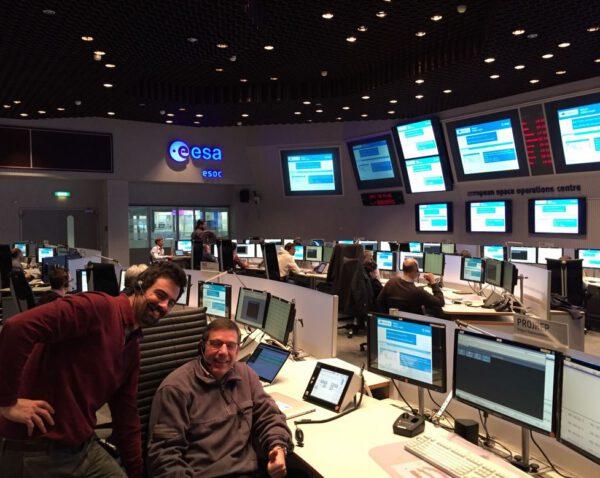 Tým v ESOC se také připravuje na start Sentinelu 3B