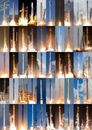 Falcon 9 má za sebou momentálně 50 startů. Už na konci dubna jich ale může být o šest víc!
