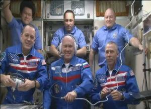 Aktuální posádka na ISS.