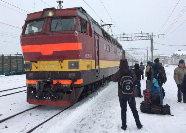 Vlak do Archangelsku