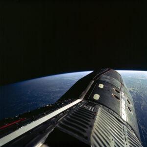 Pohled z Gemini XII během druhé SEVA