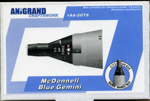 Z programu Blue Gemini zůstaly pouze plastikové modely...