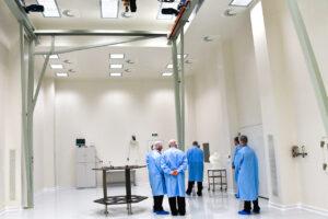 Nová výrobní hala pro adaptér rakety Vega v Brně