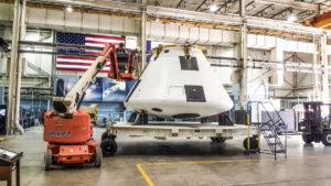 Kabina Orionu pro test AA-2 vJSC, březen