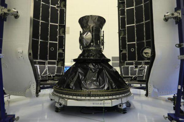 TESS na adaptéru Falconu 9