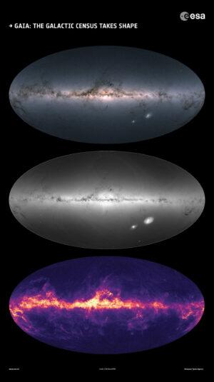 """Gaia provádí hvězdné """"sčítání lidu"""""""