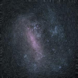 Rotace Velkého Magellanova oblaku.