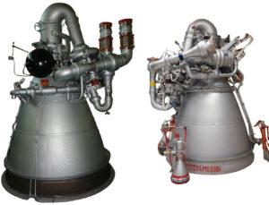 Motory RD-0210 a RD-0212.