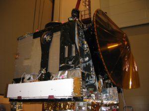 Mars Express na konci roku 2002 při přípravách na start